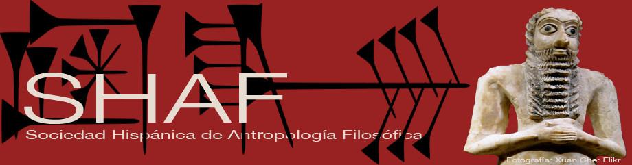 Logotipo SHAF con orante sumerio